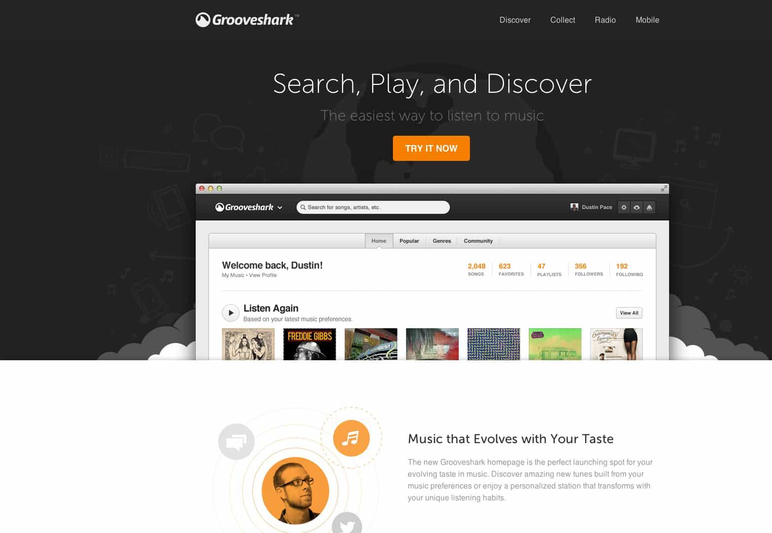 Grooveshark - Preview the New Grooveshark