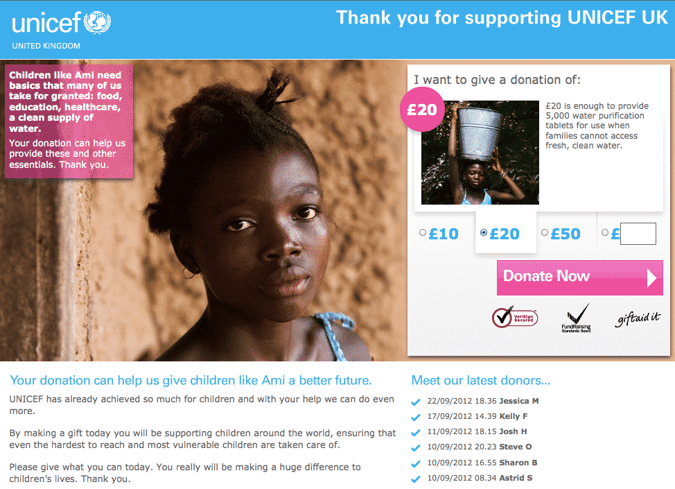 landing_page_ejemplo_unicef