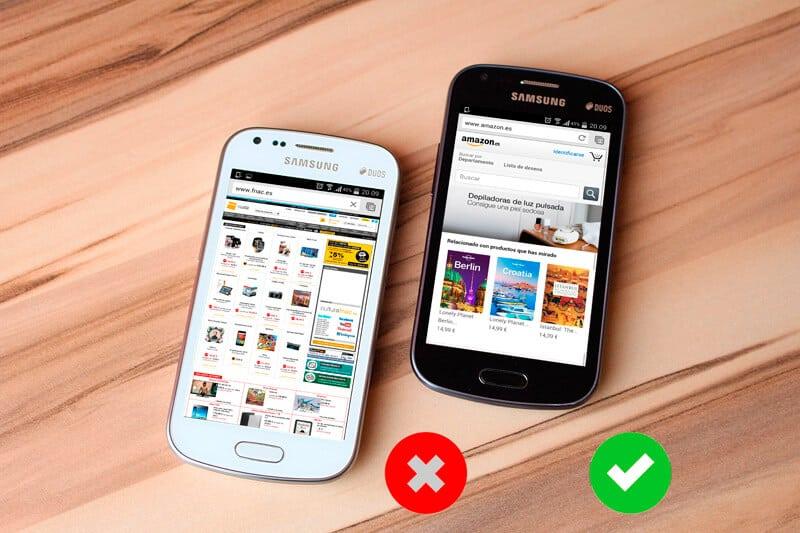 Mobileggedon, responsive design