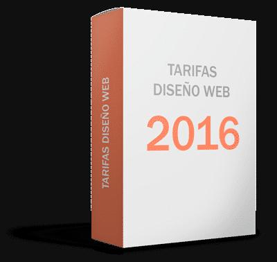 tarifas diseño web pack