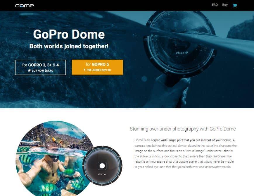 GoPro Dome Sitelabs portfolio