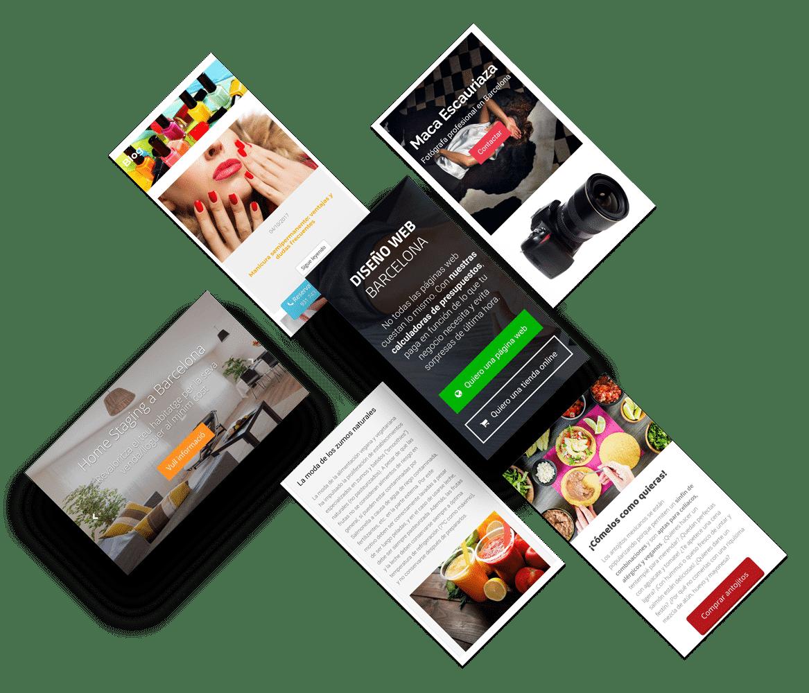 Diseño web WordPress Barcelona