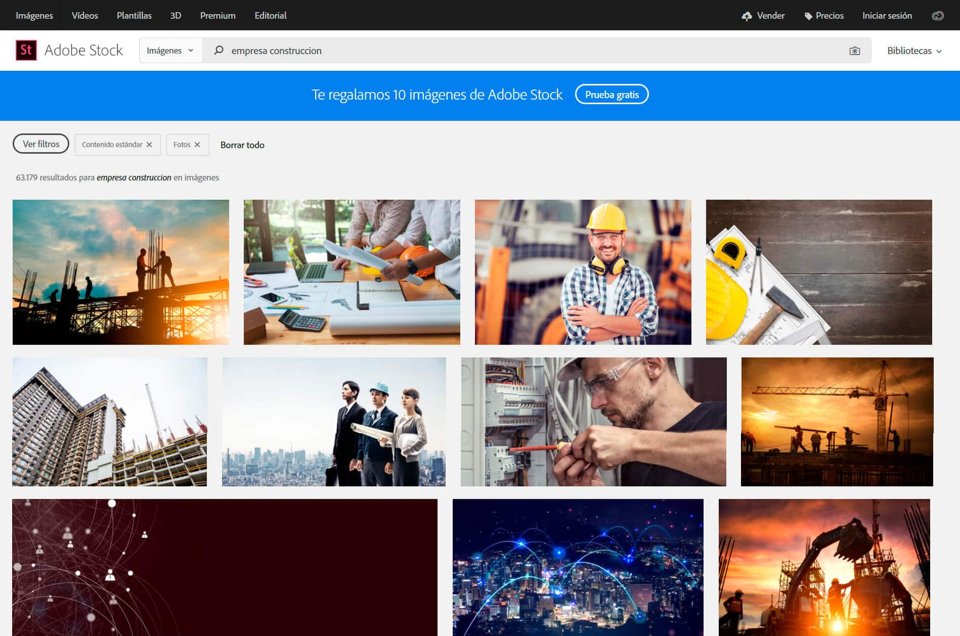 Imagenes para web Adobe Stock